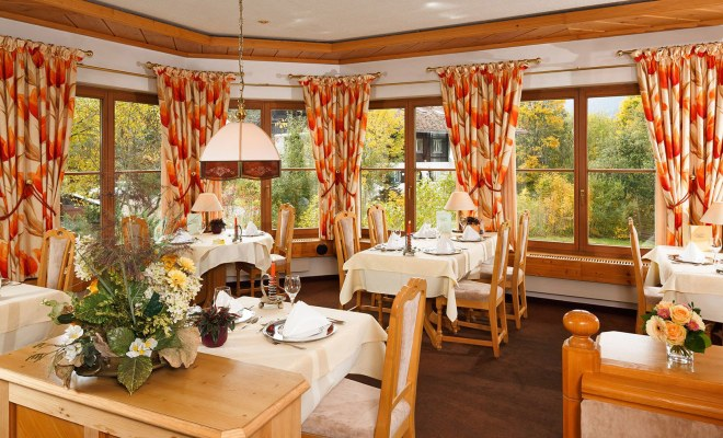 Hotel-Restaurant mit gemütlichem Ambiente