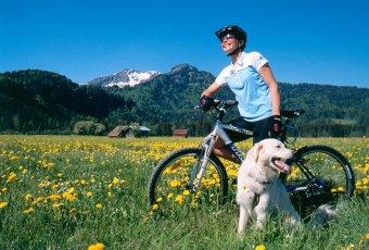 Ausflug mit den Rad