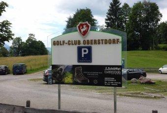 Parkplatz Golfplatz Oberstdorf