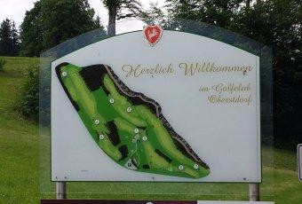 Übersichtsplan Golfplatz Oberstdorf